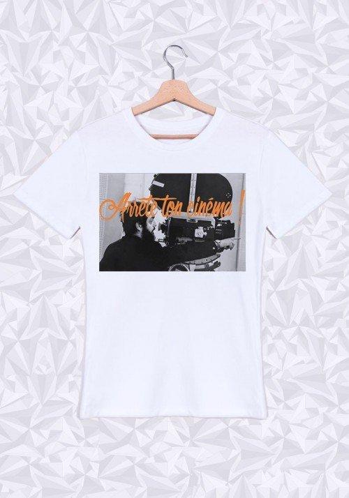 Kubrick Cinéma T-shirt Homme Col Rond