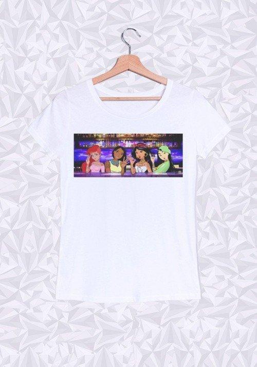 Girlz Arm & Lips T-shirt Femme Col Rond