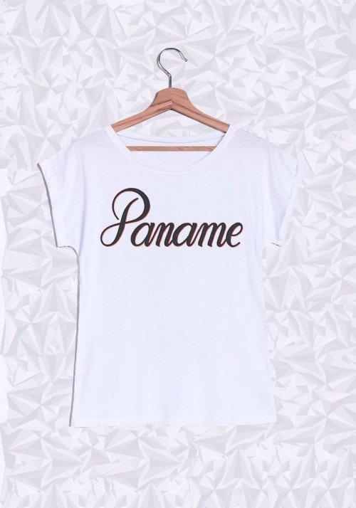 Paname T-shirt Femme Manches Retroussées