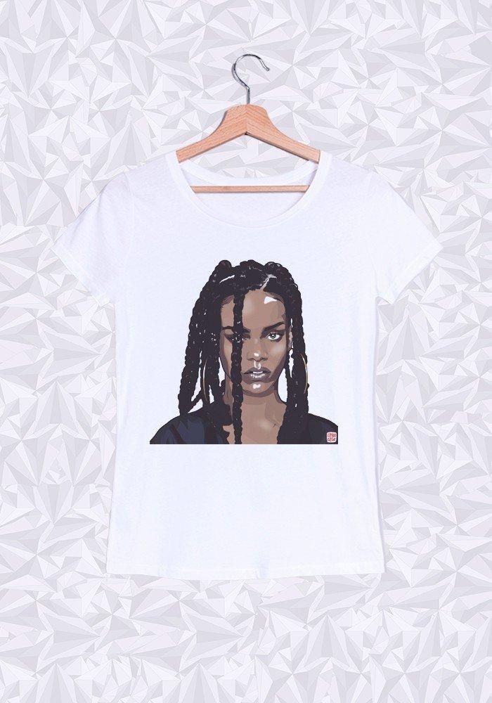 Tshirts Femme Rihanna Head