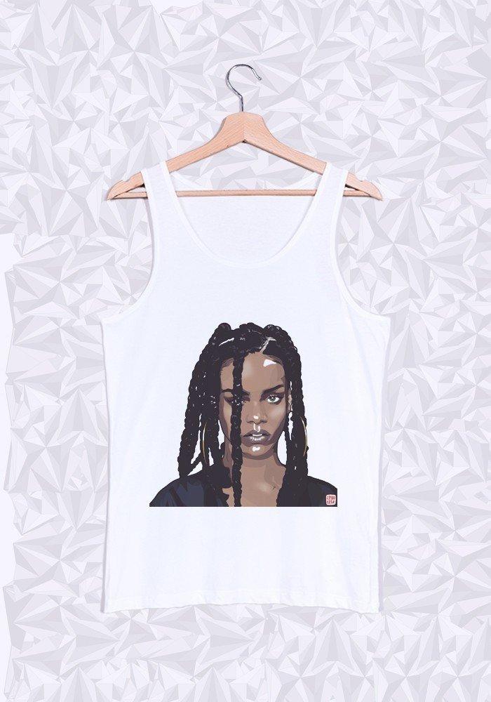 Débardeur Rihanna Head