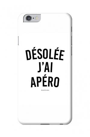 Désolée j'ai Apéro Coques Smartphones