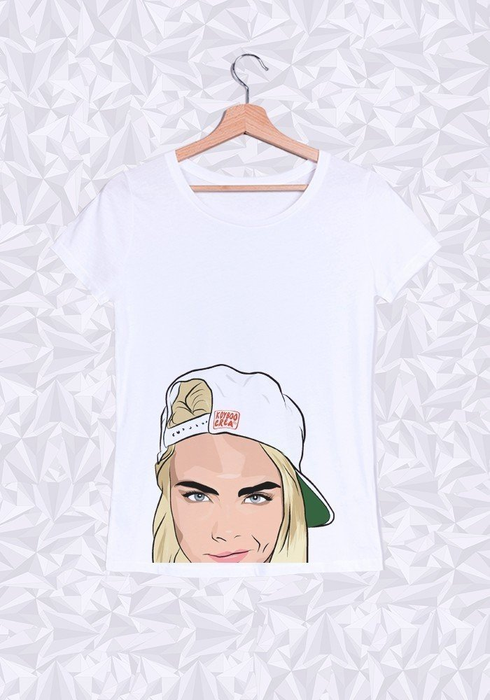 Tshirts Femme Cara Delevingne