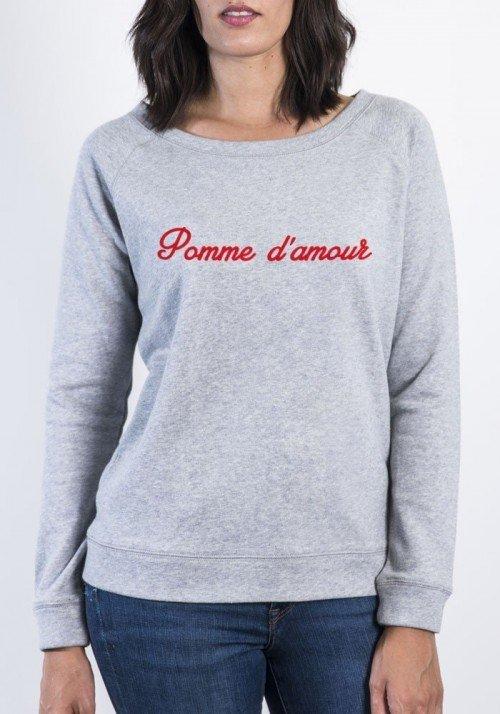 Pomme d'amour - Sweat Femme