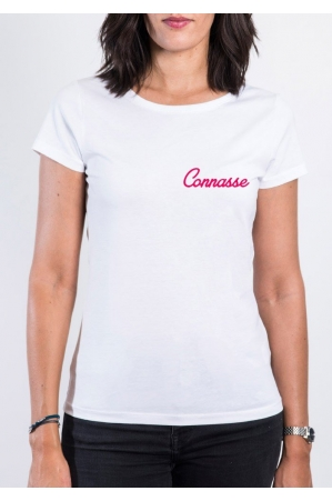 Connasse T-shirt femme col rond