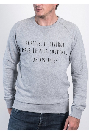 Je Diverge - Sweat Homme