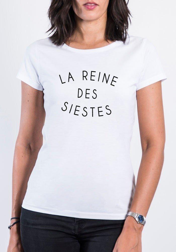 Tshirt femme la reine des siestes square up tshirt - Bon de reduction trend corner ...