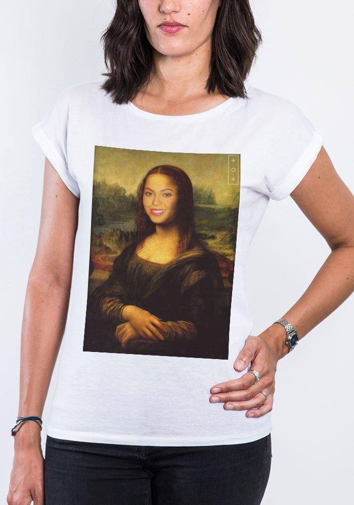 Beyoconde T-shirt Femme Manches Retroussées