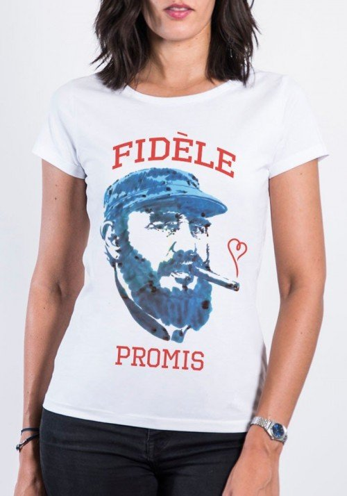 Fidèle T-shirt Femme Col Rond