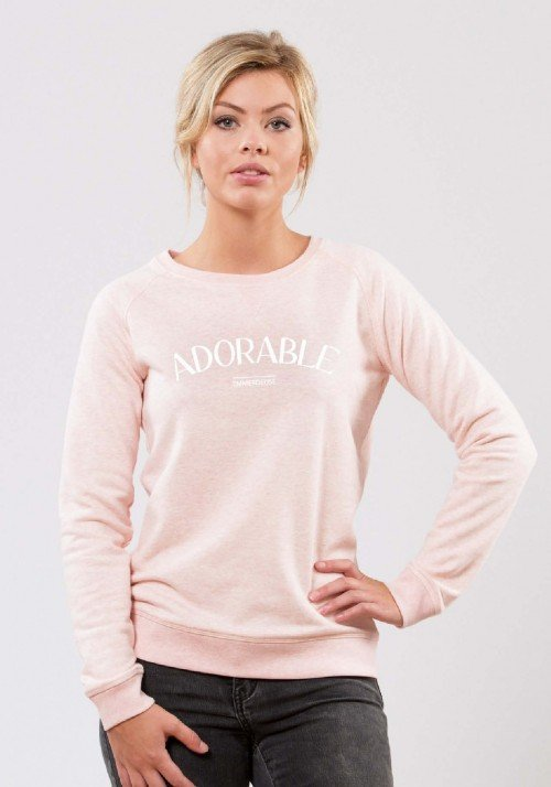 Adorable Emmerdeuse Sweat Femme