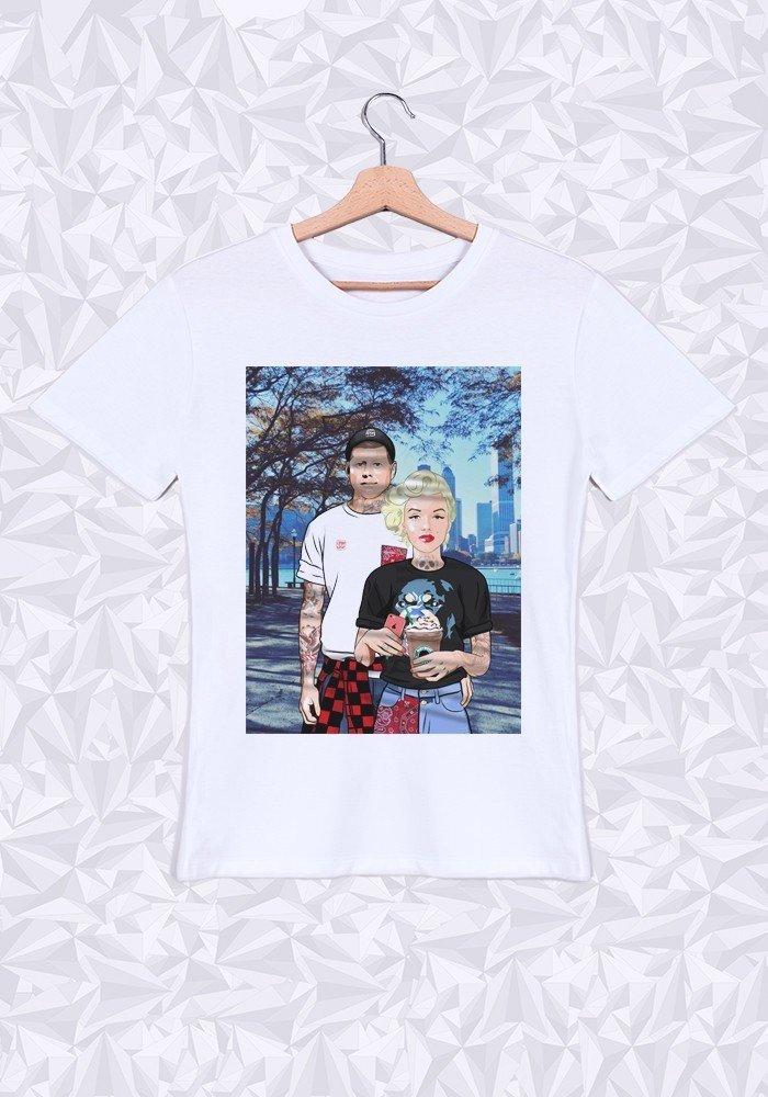 Tshirts Homme Marilyn & JFK