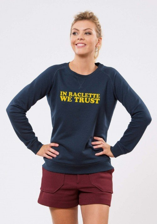In Raclette we trust Sweat Femme