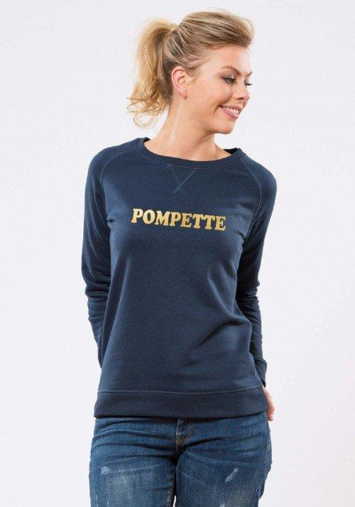 Pompette Sweat Femme