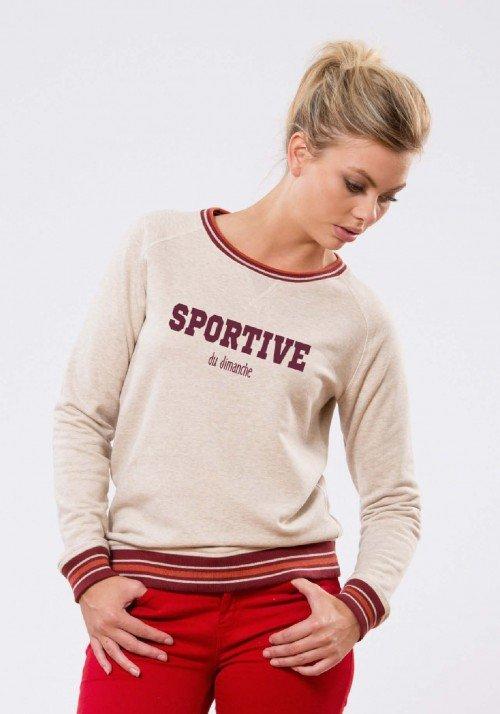 Sportive du Dimanche Sweat Femme