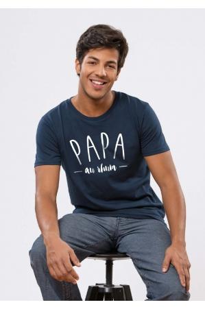 Papa au Rhum T-shirt Homme Navy