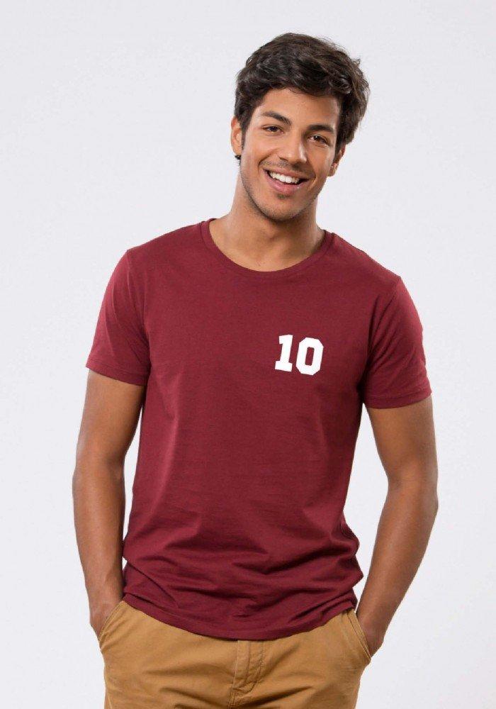 Dix T-shirt Homme Navy