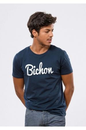 Bichon T-shirt Homme Navy