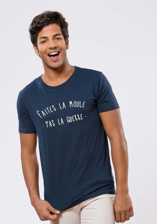 Faites la moule pas la guerre T-shirt Homme