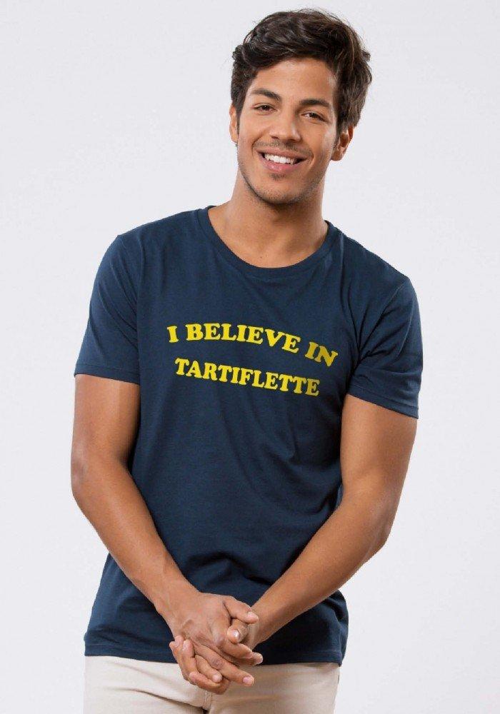 I believe in Tartiflette T-shirt Homme