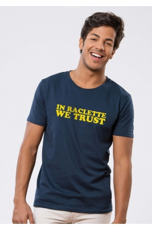 In Raclette we Trust T-shirt Homme
