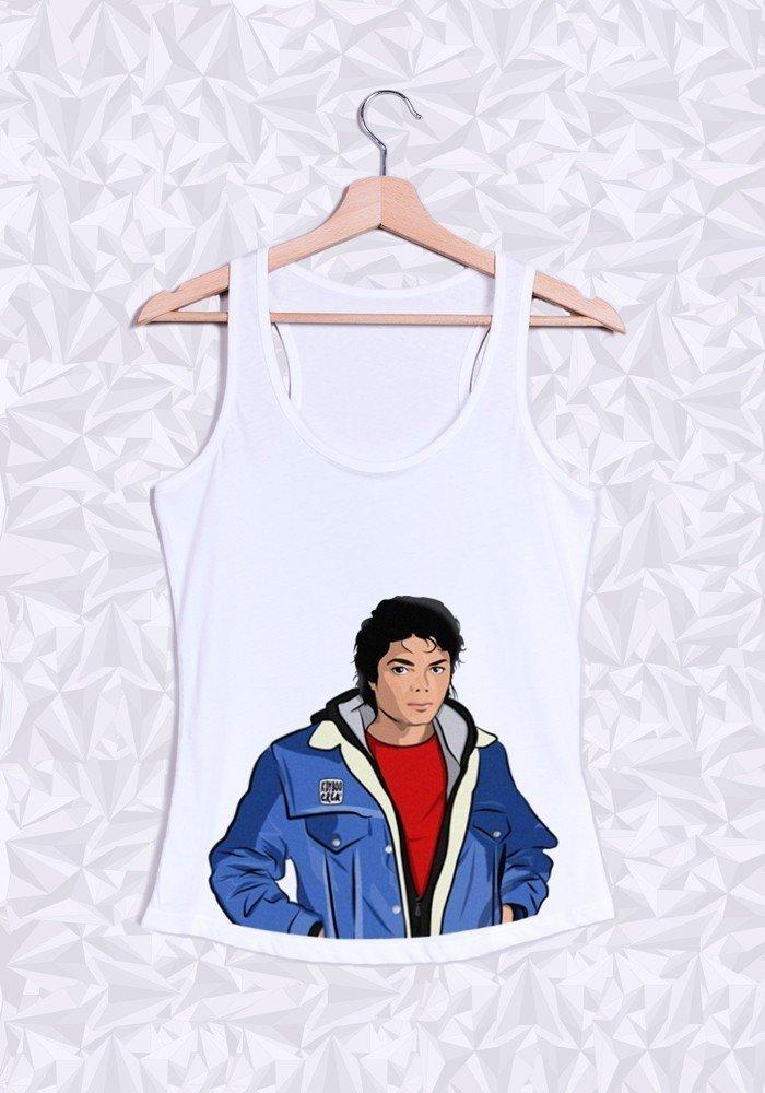 Débardeur Femme Michael Jackson Buste