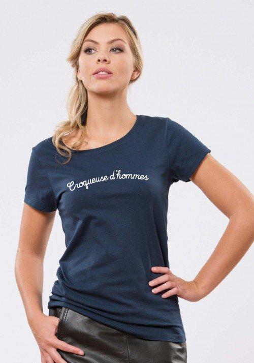 Croqueuse d'Hommes T-shirt Femme