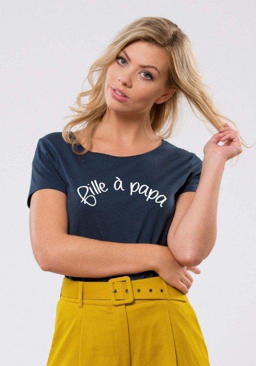 Fille à Papa T-shirt Femme