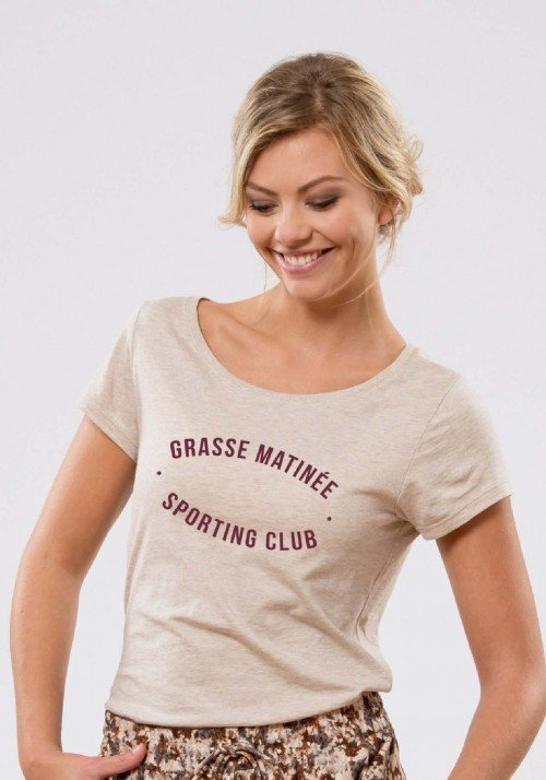 Grasse Matinée Sporting Club T-shirt Femme