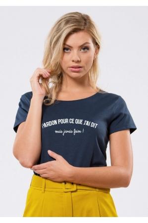 Pardon pour ce que j'ai dis T-shirt Femme