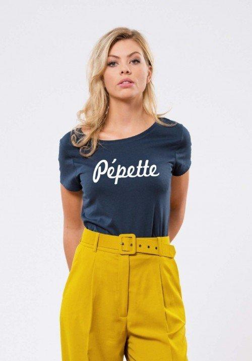 Pépette Navy T-shirt Femme