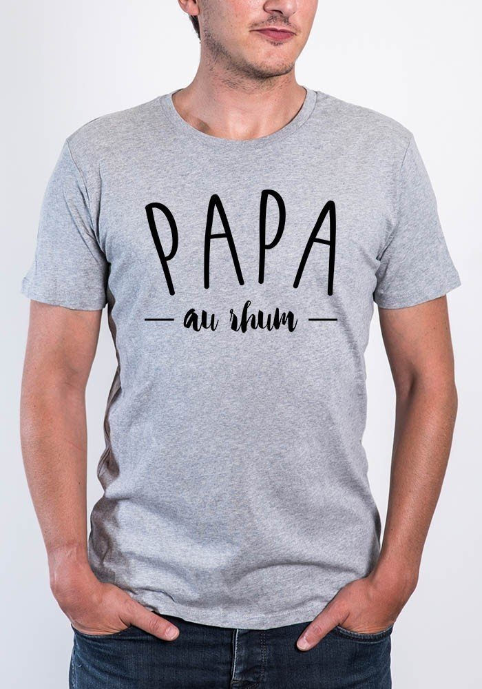 tshirts homme col rond papa au rhum square up tshirt. Black Bedroom Furniture Sets. Home Design Ideas