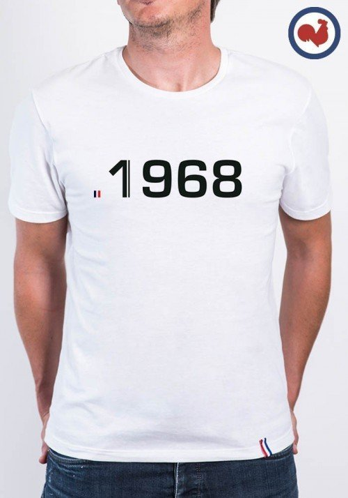 1968 T-shirt Made in France