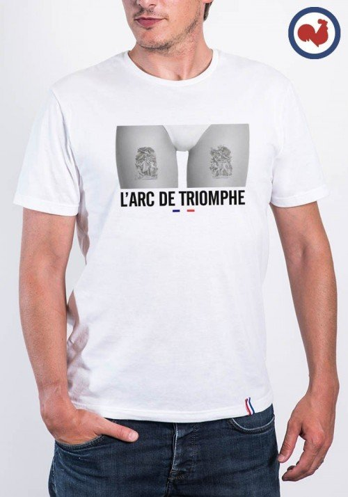 Arc de Triomphe T-shirt Made in France