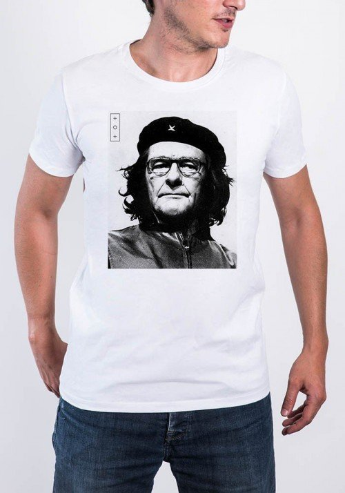 Chirac Che Guevara T-shirt Homme Col Rond