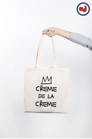 Crème de la Crème Totebag Made in France