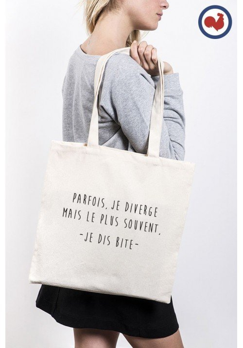 Je diverge Totebag Made in France