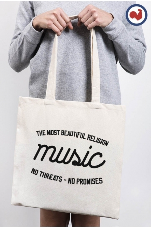 Music Totebag Made in France