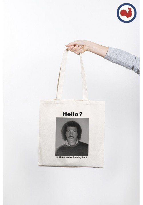 Hello Tote Bag Made in France