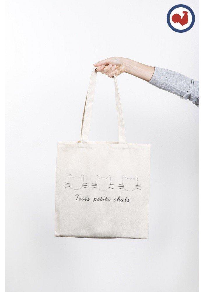 Tote Bag 3 Chats