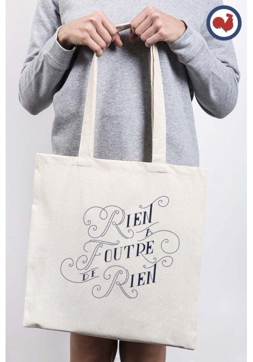 Rien a foutre de rien Totebag Made in France