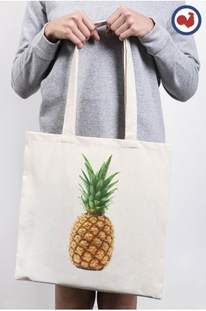Ananas Totebag Made in France