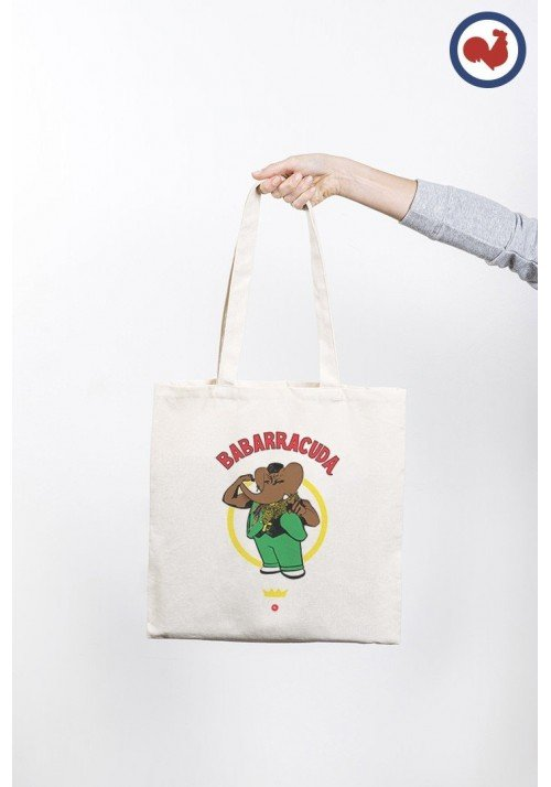 Babarracuda Totebag Made in France