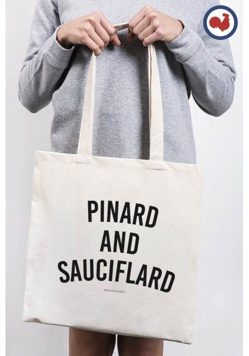 Tote Bag Pinard and Sauciflard