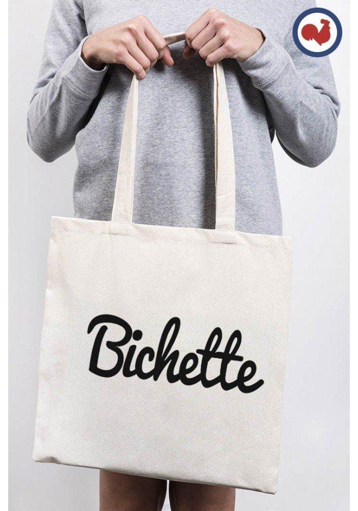 Tote Bag Bichette Typo