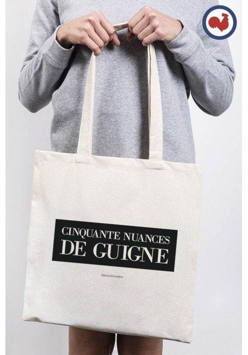 50 Nuances de Guigne Totebag Made in France