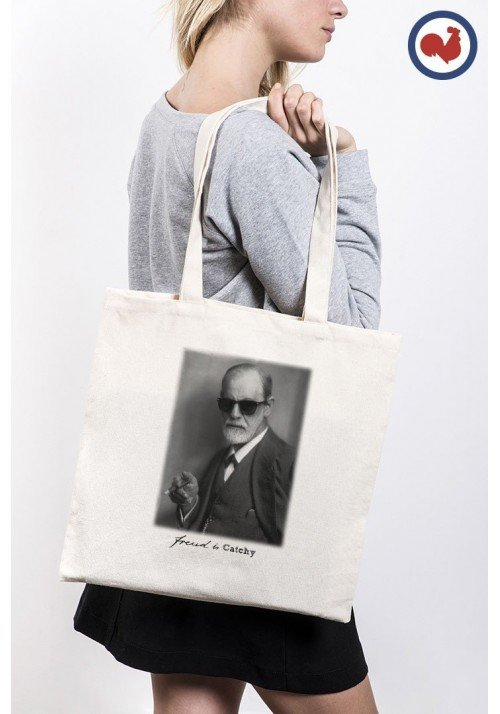 Freud is Catchy Totebag Made in France