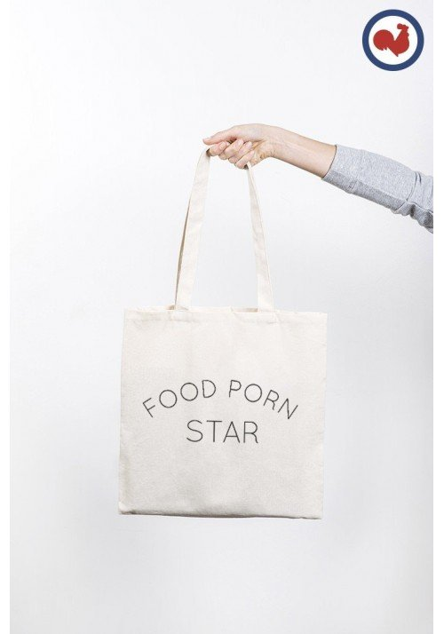 Food Porn Star Totebag Made in France