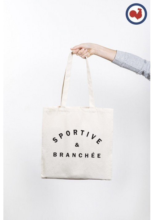 Sportive & Branchée Totebag Made in France