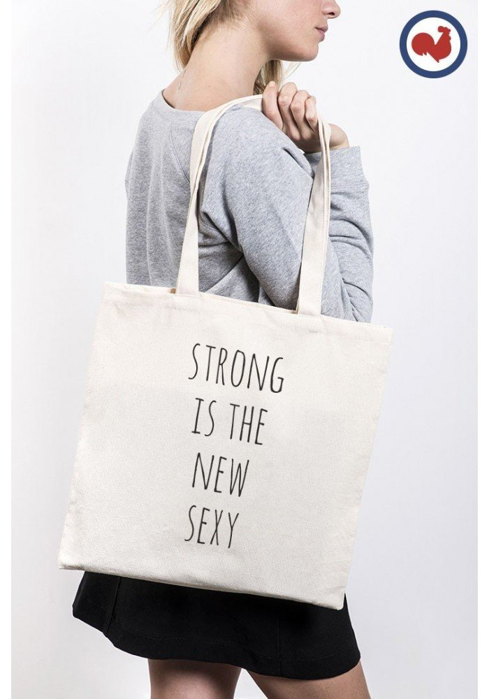tote bag Strong is the New Sexy