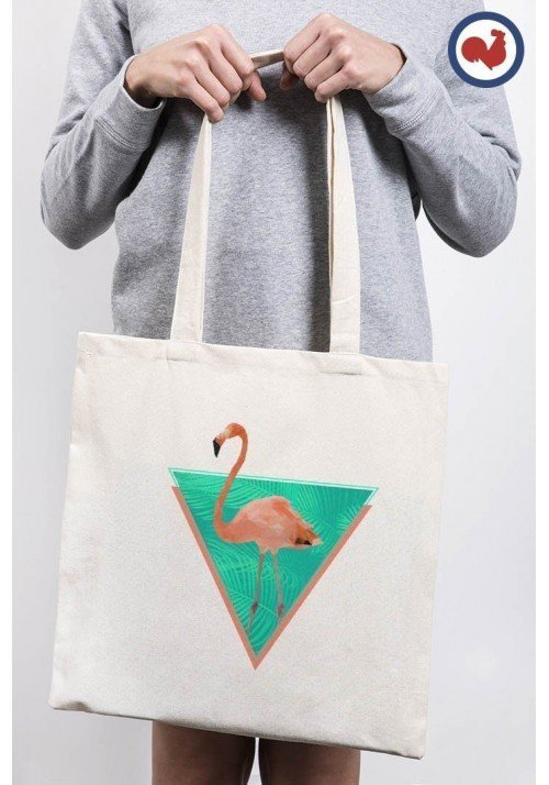 Flamand Rose Totebag Made in France